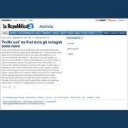 la Repubblica-Truffa ex Fiat Avio