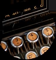Macchina Olivetti lente 1