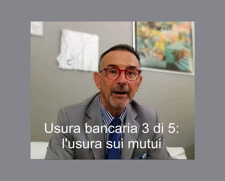 Usura bancaria - Video 3 di 5