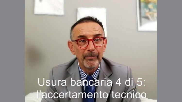Usura bancaria - Video 4 di 5