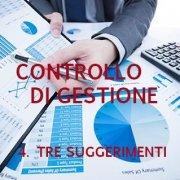 Controllo di gestione - Tre suggerimenti