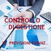 Controllo di gestione - Previsioni finanziarie